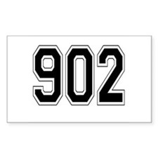 902 Rectangle Decal