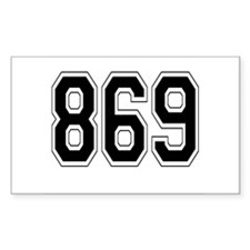 869 Rectangle Decal