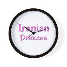 Iranian Princess Wall Clock