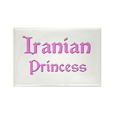 Iranian Princess Rectangle Magnet