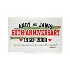Andy and Janis Magnet