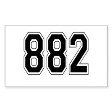 882 Rectangle Decal