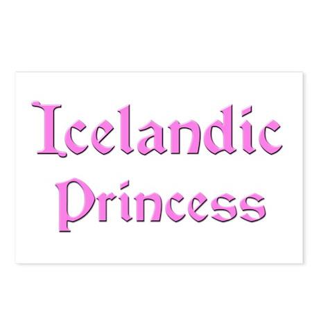 Icelandic Princess Postcards (Package of 8)