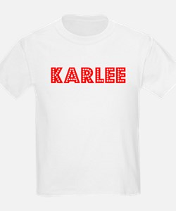 Retro Karlee (Red) T-Shirt