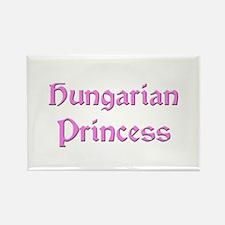 Hungarian Princess Rectangle Magnet