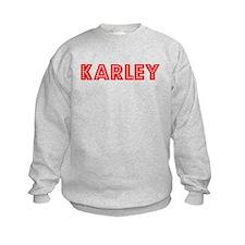 Retro Karley (Red) Jumpers