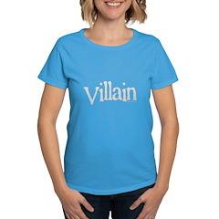 Villain of movie, book, play Tee
