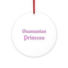 Guamanian Princess Ornament (Round)