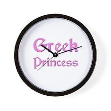 Greek Princess Wall Clock