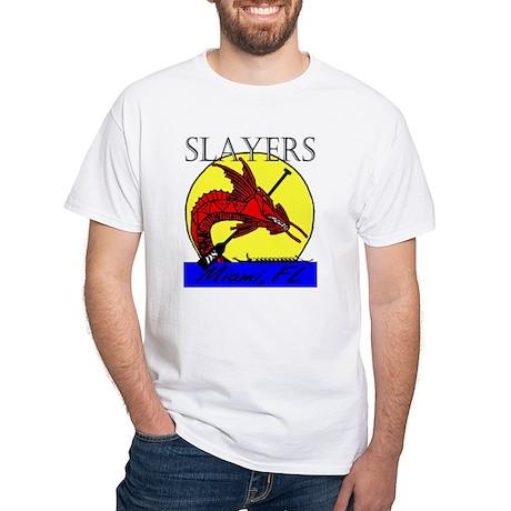 Dragon Slayers White T-Shirt