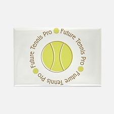 Future Tennis Pro Rectangle Magnet