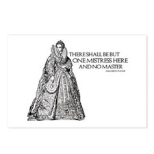 One Mistress Here Postcards (Package of 8)