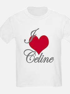 I love (heart) Celine T-Shirt