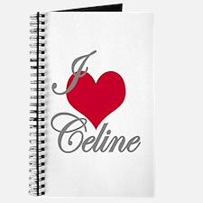 I love (heart) Celine Journal