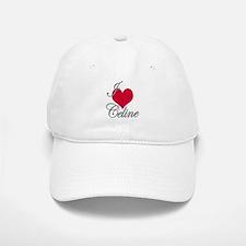 I love (heart) Celine Baseball Baseball Cap