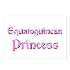Equatoguinean Princess Postcards (Package of 8)