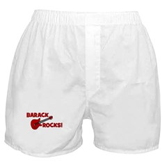 BARACK ROCKS! Boxer Shorts
