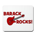 BARACK ROCKS! Mousepad