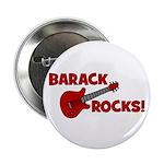 """BARACK ROCKS! 2.25"""" Button"""