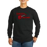 BARACK ROCKS! Long Sleeve Dark T-Shirt