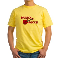 BARACK ROCKS! T