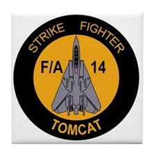 Cute Tomcat Tile Coaster