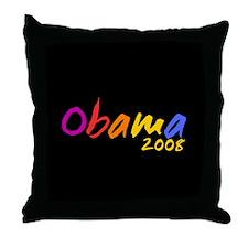 Cool Obama 2008 Throw Pillow