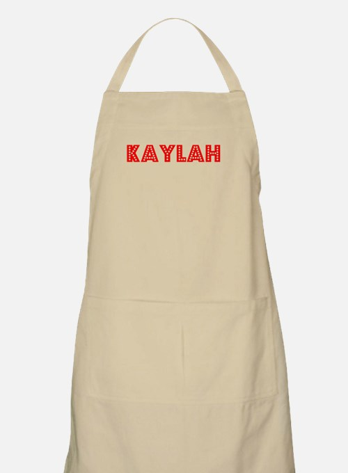 Retro Kaylah (Red) BBQ Apron