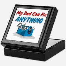 Fix Anything Dad Keepsake Box