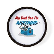 Fix Anything Dad Wall Clock