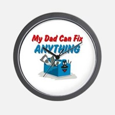 Fix Anything Dad Wall Clock