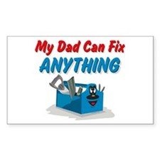Fix Anything Dad Rectangle Decal