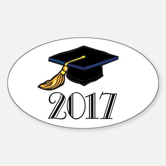 2017 Graduation Oval Decal