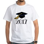 2017 Graduation White T-Shirt