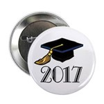 "2017 Graduation 2.25"" Button"