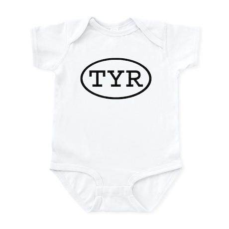 TYR Oval Infant Bodysuit