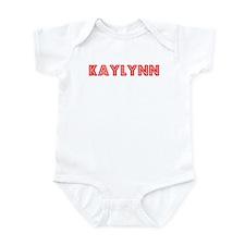 Retro Kaylynn (Red) Infant Bodysuit