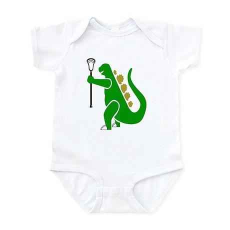 Lacrosse Laxasaurus 1 Infant Bodysuit