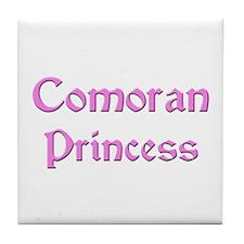 Comoran Princess Tile Coaster