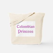 Colombian Princess Tote Bag