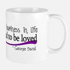 There is only one happiness in life Mug