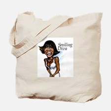 Smiling Diva Tote Bag
