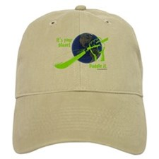 IT'S YOUR PLANET - PADDLE IT. Baseball Cap