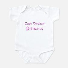 Cape Verdean Princess Infant Bodysuit
