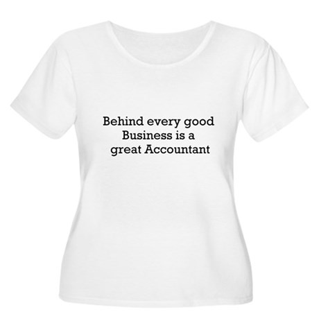 Accountant Women's Plus Size Scoop Neck T-Shirt