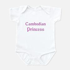 Cambodian Princess Infant Bodysuit