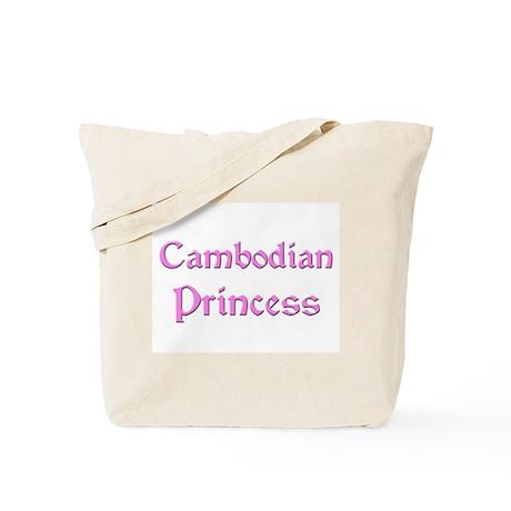 Cambodian Princess Tote Bag