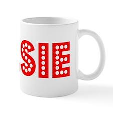 Retro Kelsie (Red) Mug