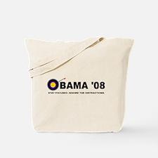 Funny Barack obama 08 Tote Bag