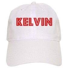 Retro Kelvin (Red) Baseball Cap
